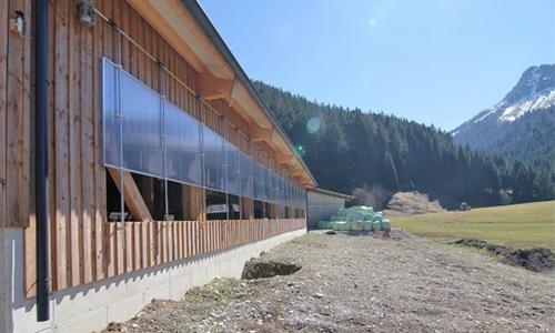 Großraum-Schiebefenster