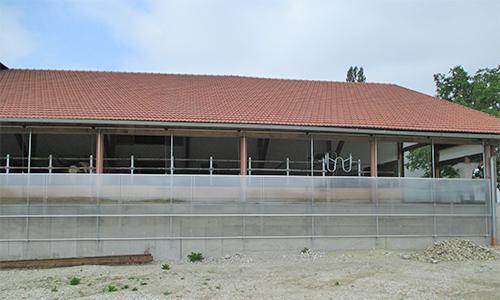 Großraum-Schiebefenster doppelt